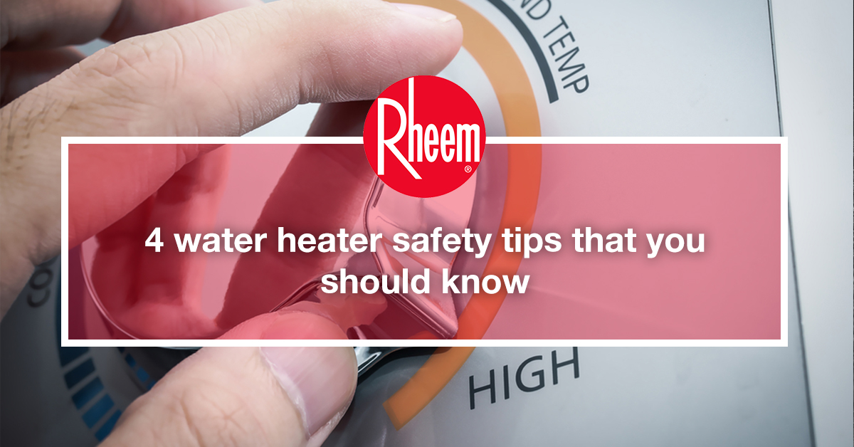 Storage Water heater Safety Tips You Should Know