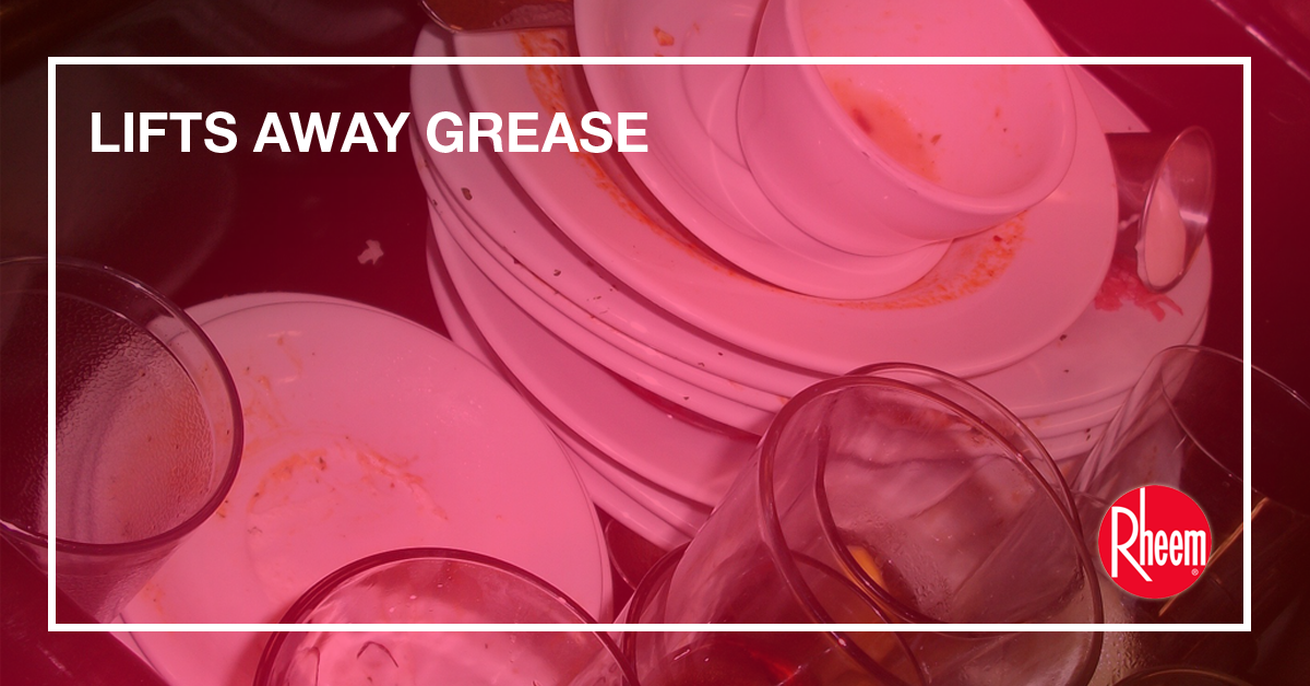 lifts away grease