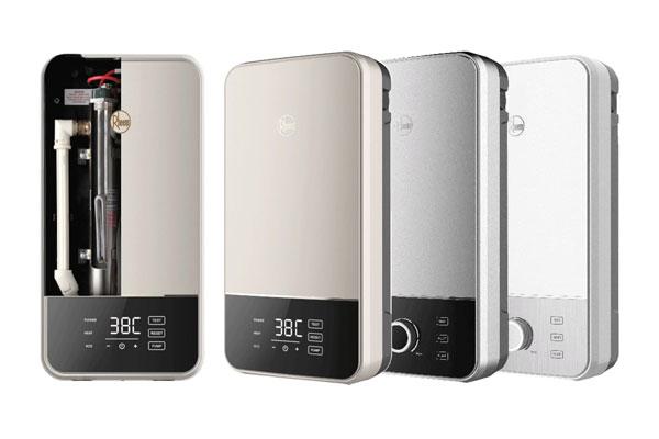 Single point water heater by Rheem
