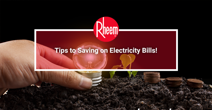 Tips to saving electricity bills banner