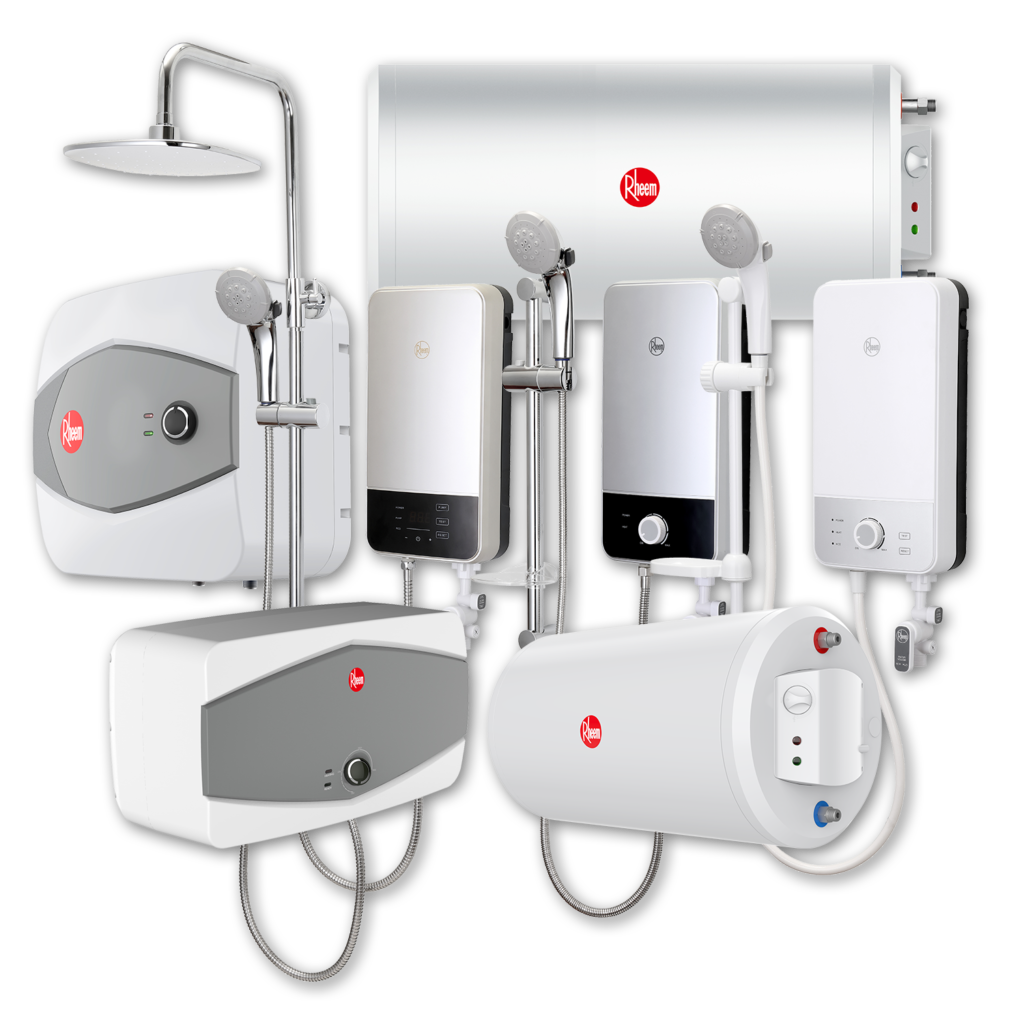 Electric water heaters from Rheem Malaysia