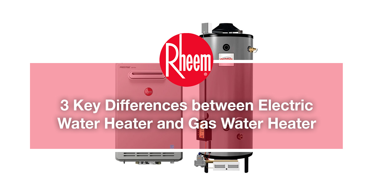 Rheem is a professional and reliable water heater company in Malaysia