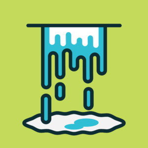 Illustration of Dripping water