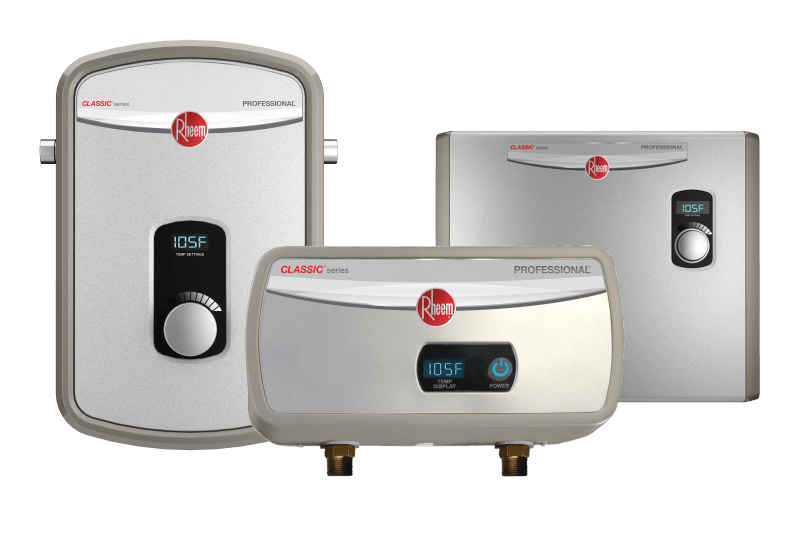Professional Classic Tankless Electric Water Heaters